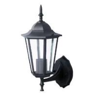 Wandlamp aluminium voor buiten zwart
