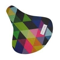 Hooodie Zadeldek Colored Triangles