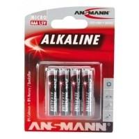 Ansmann Alkaline AAA-batterijen