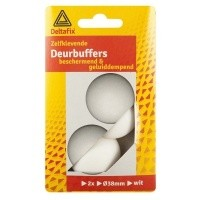 Deurbuffers wit