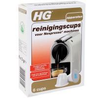 HG Reinigingscups voor Nespresso 6 stuks