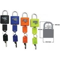 Hangslotjes Security Plus 4-delig