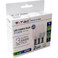 LED kaars 5,5W warm wit doos a3