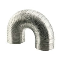 Aluminium buis afzuigkap 102 m/m 1.5 mtr.