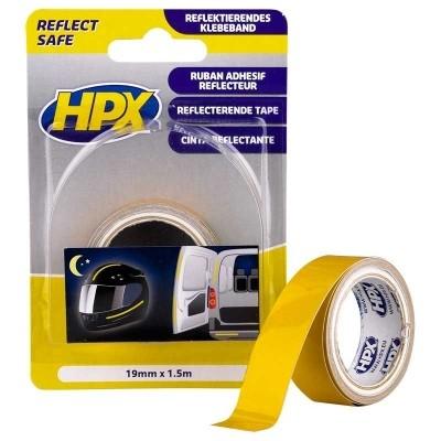 Foto van HPX Reflecterende Tape Geel