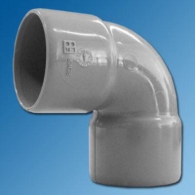 PVC BOCHT 40 mm.