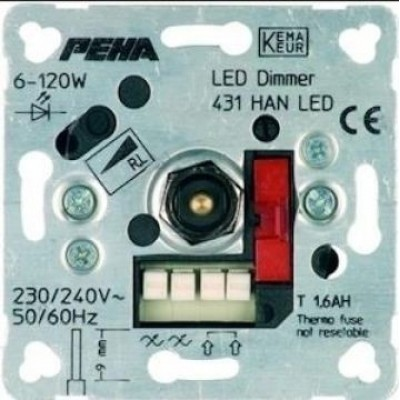 PEHA LED-dimmer 6-60 Watt