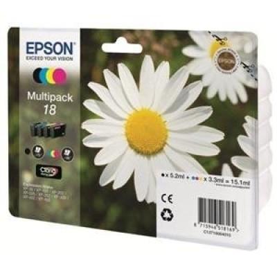 Foto van EPSON 18 XL INKT C/M/Y/K