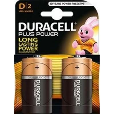 Foto van Batterij Duracell Plus D R20