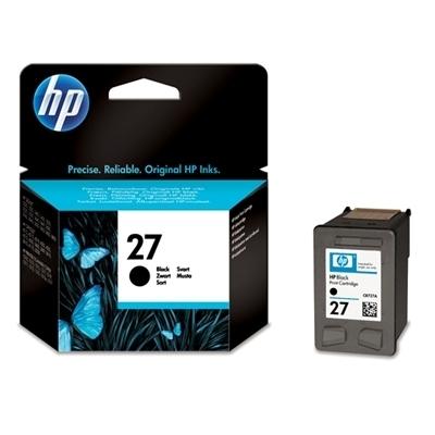 Foto van HP 27 INKT ZWARTHP 27 INKT ZWART