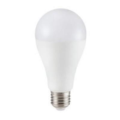 Foto van LED 17W E27 mat wit