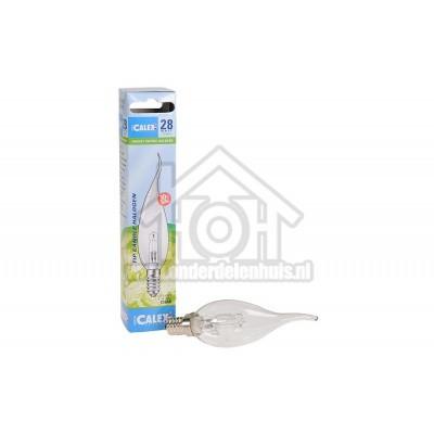 Foto van Calex Halogeenlamp Tip-Kaarslamp 230V 28 Watt 370 Lumen 2800K Helder E14 BXS35 Dimbaar 508158