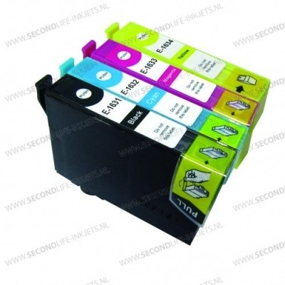 Foto van Multipack for Epson 1631, 1632, 1633, 1634
