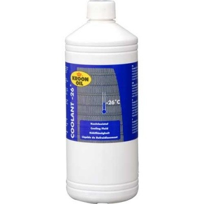 Koelvloeistof Coolant -26 - 1L - Kroon-Oil