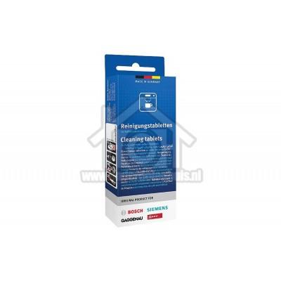 Foto van Bosch Reiniger Voor koffiezetapparaten 2,2 gram en thermoskannen TCZ6001 (zie memo)