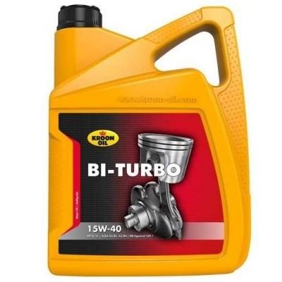 Foto van Motorolie Bi-Turbo 15W-40 - 5L