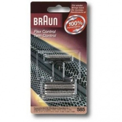 Foto van Braun Combipack Flex Control & Twin Control 585 586
