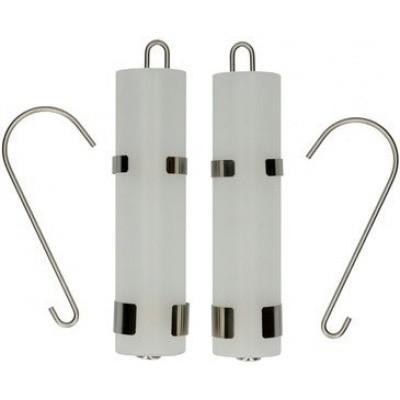 Foto van Waterverdampers glas 2 stuks
