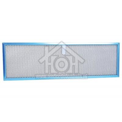 Foto van Novy Filter Metalen Vetfilter, Kunstof Lip Lange Zijde Afmeting 500x155mm, D190 5638015
