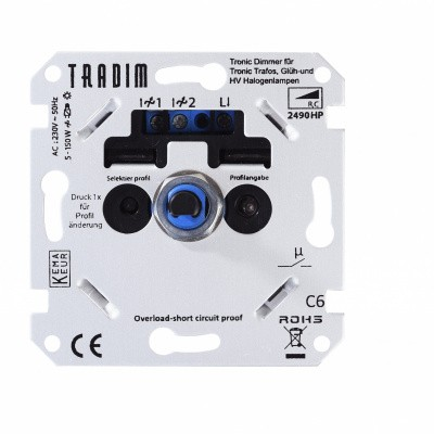 Foto van Led Dimmer Tradim 5-150 Watt