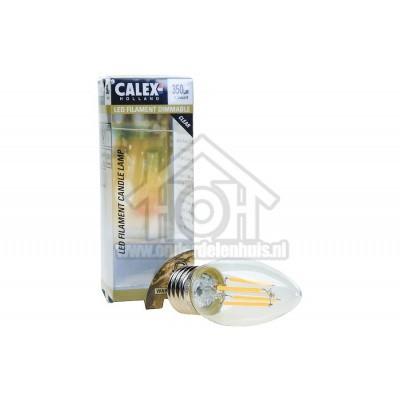 Foto van Calex Ledlamp Filament Dimbare Kaarslamp E27 350Lm 2700K 3,5W 474498