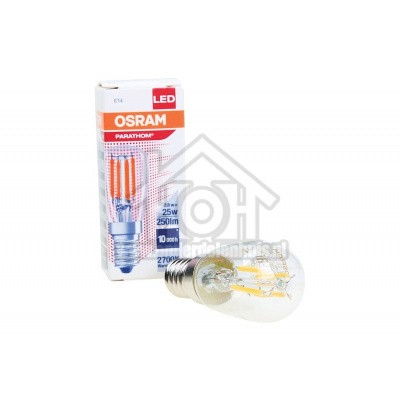 Foto van Osram Ledlamp LED Special koelkastlamp T26 2,8W E14 250lm 2700K 4058075133471