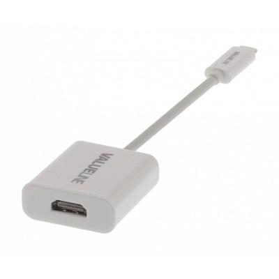 Foto van HDMI contra - USB-C