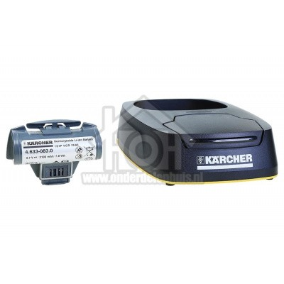 Foto van Karcher Batterij Window Vac 5 laadstation WV5 Plus, Plus Non Stop, Premium 26331160