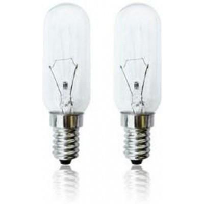 Foto van Afzuigkaplamp 40W E14 blister 2 stuks.