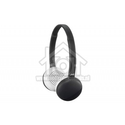 Foto van JVC Hoofdtelefoon On-ear hoofdtelefoon, Draadloos Bluetooth, Opvouwbaar Zwart met