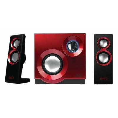 Foto van Phurephonic 2.1 speakerset Rood