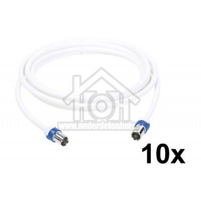 Foto van Hirschmann Aansluitkabel CATV aansluitkabel F male / IEC female connector FKAB 5/3m
