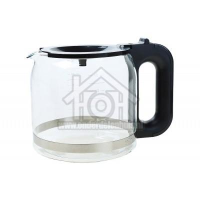 Foto van Braun Koffiekan Zwart, Glas PurAroma7, BrewSense AX13210005