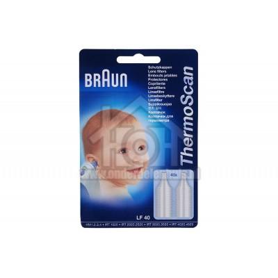 Foto van Braun Filter Wegwerp lensfilters voor Thermoscan Oorthermometer filters LF40
