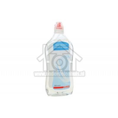 Foto van Miele Reiniger Glansspoelmiddel, 500 ml Voor een optimaal droogproces en voorkomt