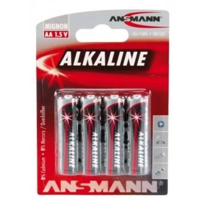 Foto van Ansmann Alkaline AA-batterijen