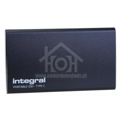 Foto van Integral SSD Portable SSD 480GB USB Type-C 3.1 INSSD480GPORT3.1AC