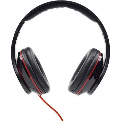 Foto van Stereo headset met microfoon zwart