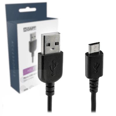 Micro USB data-laadkabel 2 mtr