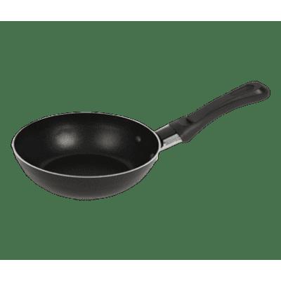 Foto van Mini-wokpan met antikleeflaag