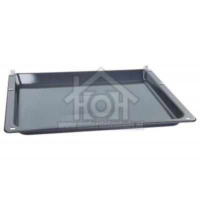 Foto van Bosch Bakplaat Geemailleerd, Grijs, 425x390mm Ovens met schuifdeur 00776525