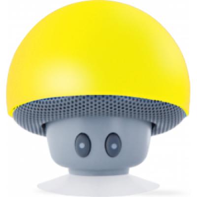 Foto van Paddestoel bluetooth speaker geel