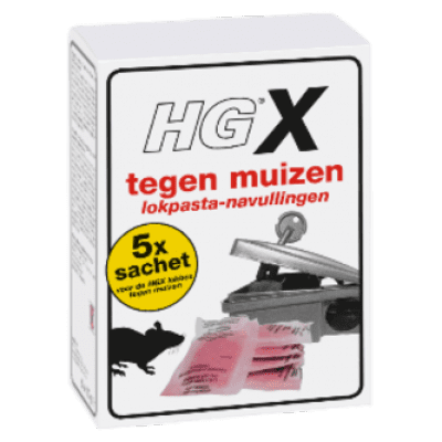 Foto van HGX muizen lokbox navulling NL-0018191-0000