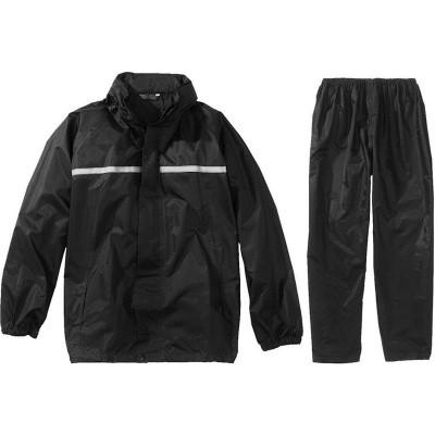 Regenpak Basic zwart S