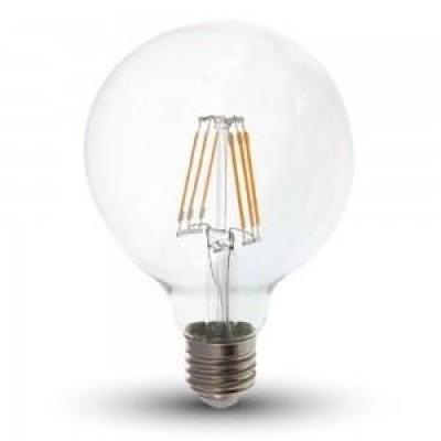 LED filament G95 6W E27