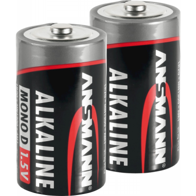 Foto van Alkaline D-batterijen 2stuks