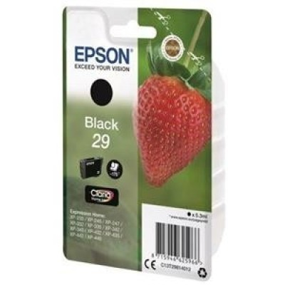 Foto van Epson 29 zwart Strawberry