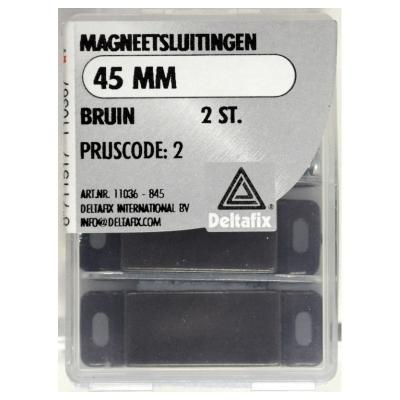 Foto van Magneetsluitingen bruin