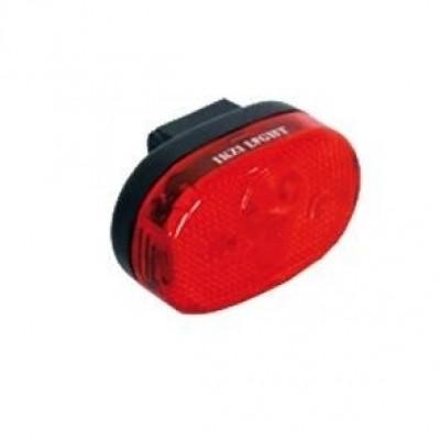 Foto van IKZI Fiets Achterlicht 3 Rode Led's