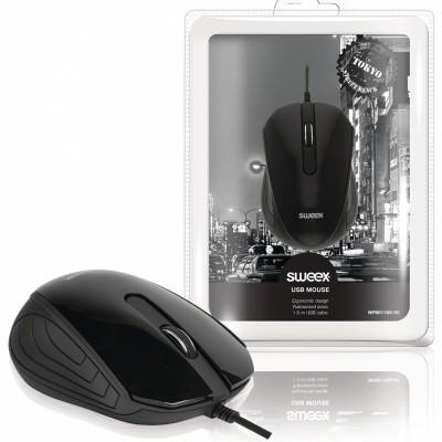 Desktop-muis met 3 knoppen